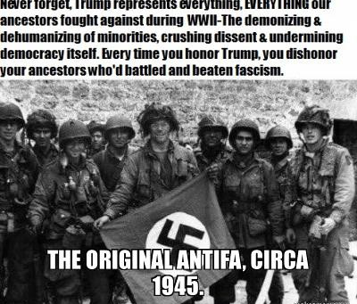 Part 10: A Journal Of A Plague Year-- GOP Obsession With 'Antifa' & BLM vs.Their Free Pass For Nazis