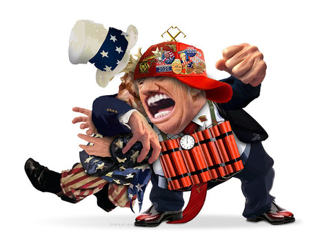 Everyone Hates Trump Except Psychotics & Knaves-- And People Brainwashed By Them