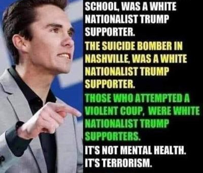 Midnight Meme Of The Day! Republicans aka The Domestic Terrorist Party