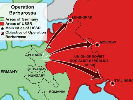 Why Russia & Belarus Are Not Irrational To Fear Another 'Operation Barbarossa'