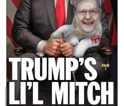 Midnight Meme Of The Day! Trump's Li'l Mitch
