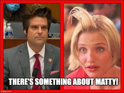 Midnight Meme Of The Day! Something About Matty