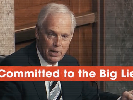 Wisconsin Voters Made A Big Mistake With Ron Johnson-- And They Can Correct That Now