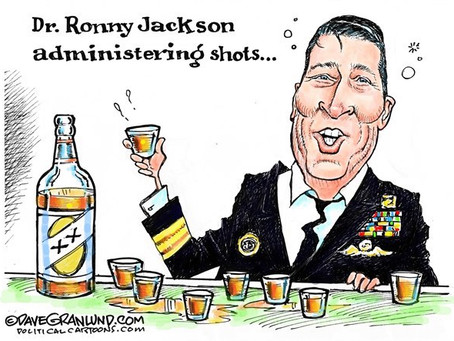 Ronny Jackson (R-TX) Thinks His Cuomo-Like Scandal Is Revenge For Not Labelling Trump Obese