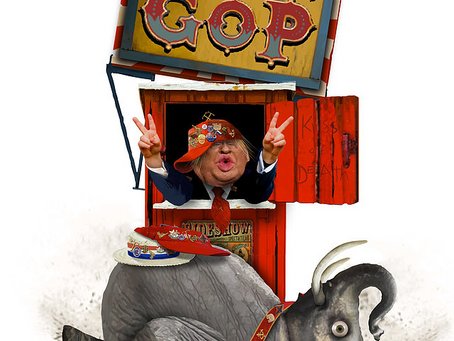 Will Trump's Kiss Of Death For Crackpot GOP Candidates, Save The Democrats?