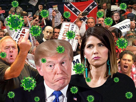 Just Another Word For Nothin' Left To Lose? Well. Maybe The Way Kristi Noem & The Proud Boys Use It