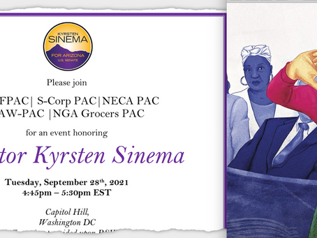 What Can The Dems Do About Sinema? Nothing-- But They Can & Should Demote Schumer