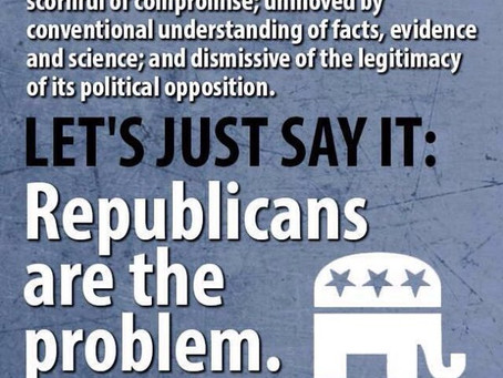 The Republican Party Itself Is Undermining Our Country... Very Seriously