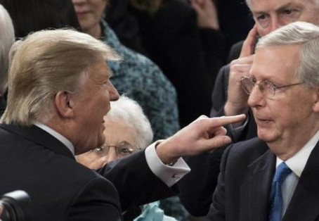 McConnell and Trumpanzee Prepare For All Out War