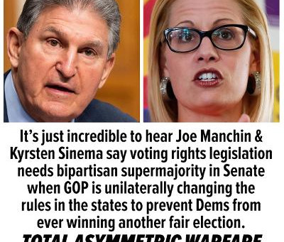 Midnight Meme Of The Day! Manchin & Sinema Would've Made Perfect Vichy Collaborators