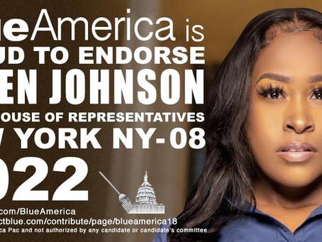 Endorsement Alert In Brooklyn-- Meet Queen Johnson