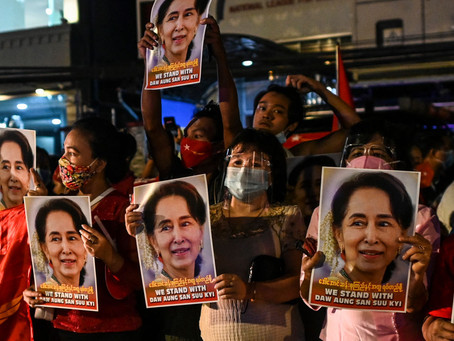 Foreign Correspondent: What Trump and the Myanmar Coup Have in Common