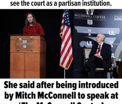 """Midnight Meme Of The Day! The Political Hackery Of """"Justice"""" Barrett"""