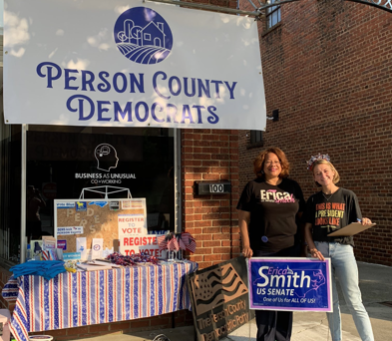 Erica Smith Just Passed The Halfway Point In Her 100 Counties In 100 Days Tour Of North Carolina