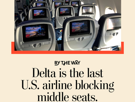 Greedy Airlines Are Stuffing Their Hapless Passengers In Again-- Although You Do Have To Wear A Mask