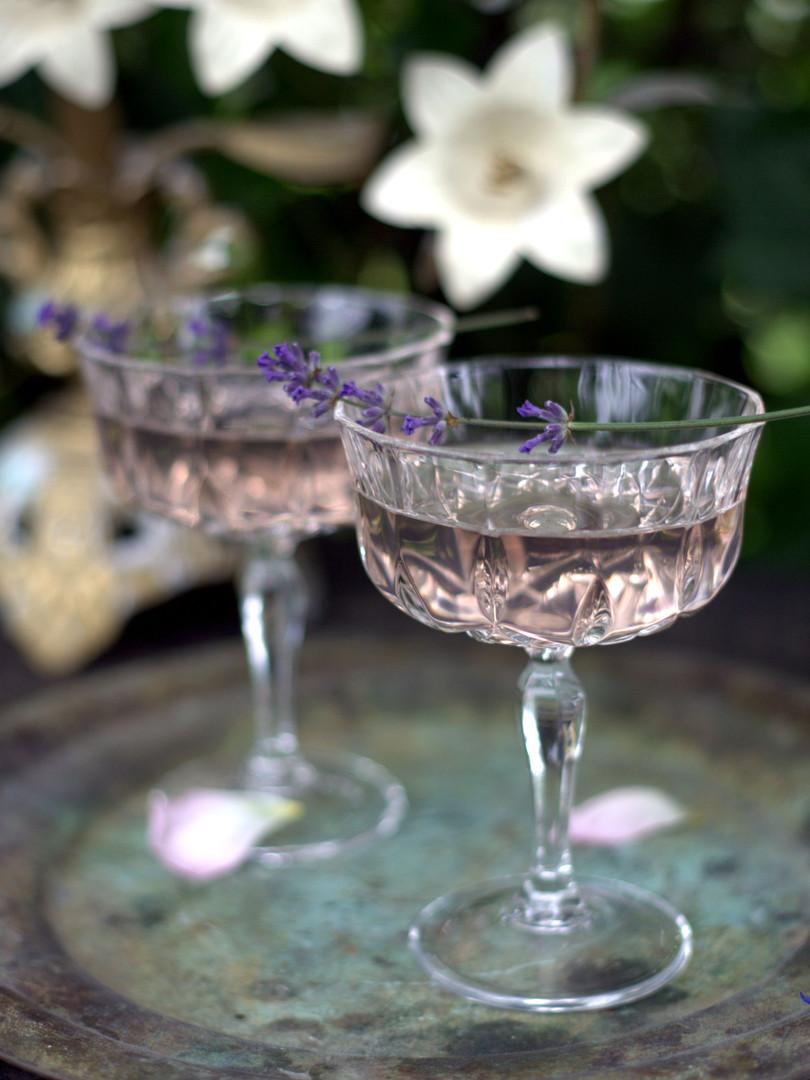 Coupeglas i kristall