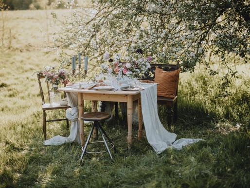 Intimt Bröllop under vildapeln