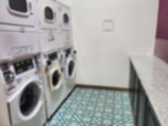 Washers and dryers as well as ironing facilities are available at Gaslamp Hostel.