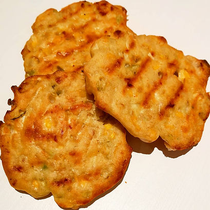 Chicken & Sweetcorn Fritters