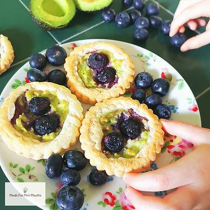 Blueberry & Avocado Yum Yums