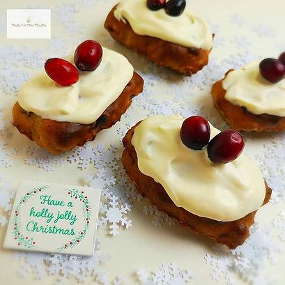 Sugar Free Christmas Cakes