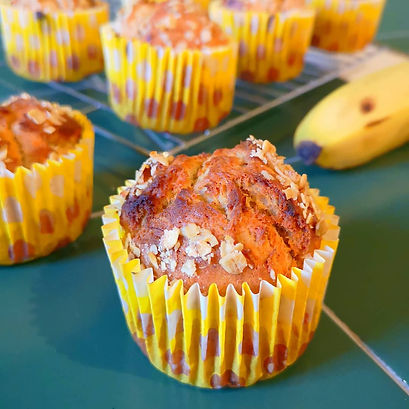 Banana Spiced Muffins