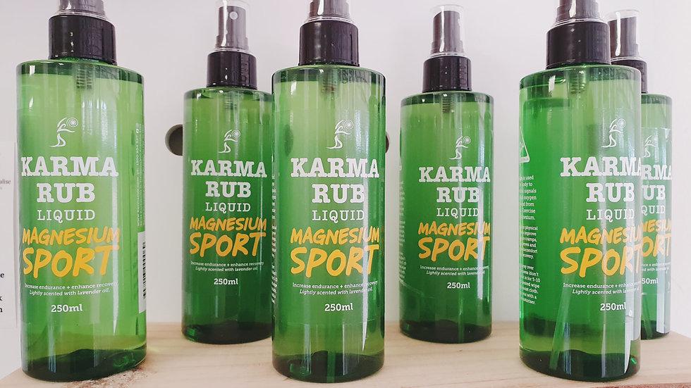 Karma Rub Magnesium Sports Spray 250ml