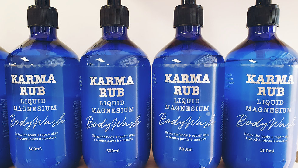 Karma Rub Magnesium Body Wash 500ml
