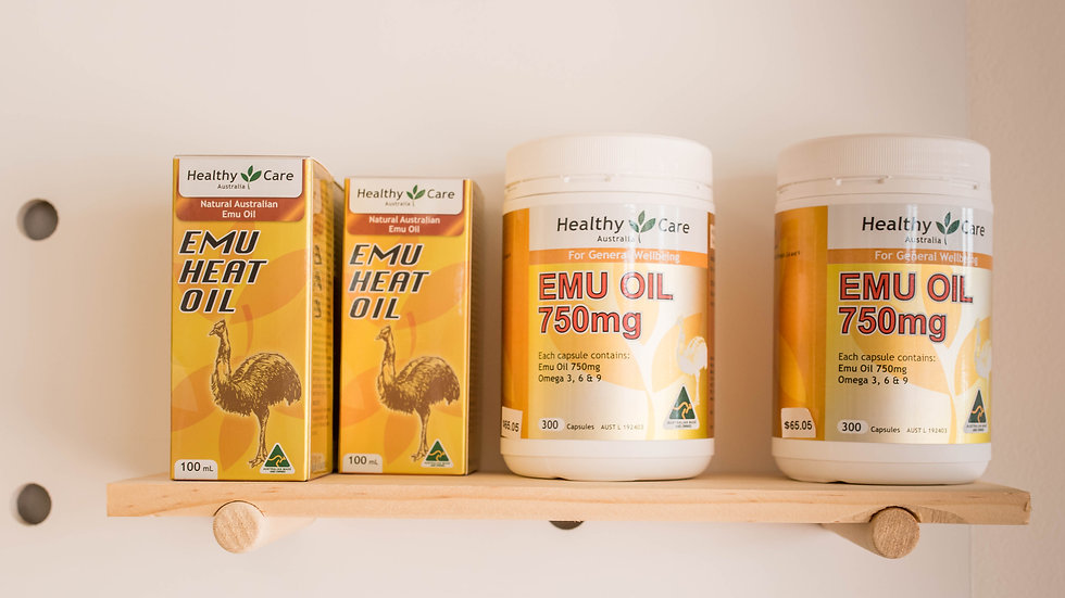Healthy Care Emu Oil Products