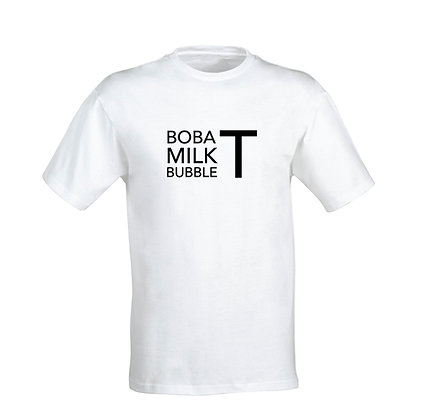 Boba T Milk T Bubble T!