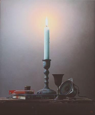 有吉宏朗「静かな灯火  その5」8号F.jpg
