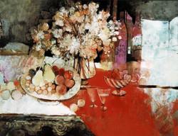 今井幸子「赤いナップ」