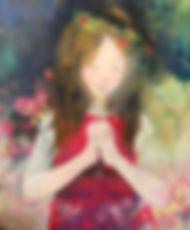 稲垣 歩「お祈り中」8号F 200,000円(税込).jpg