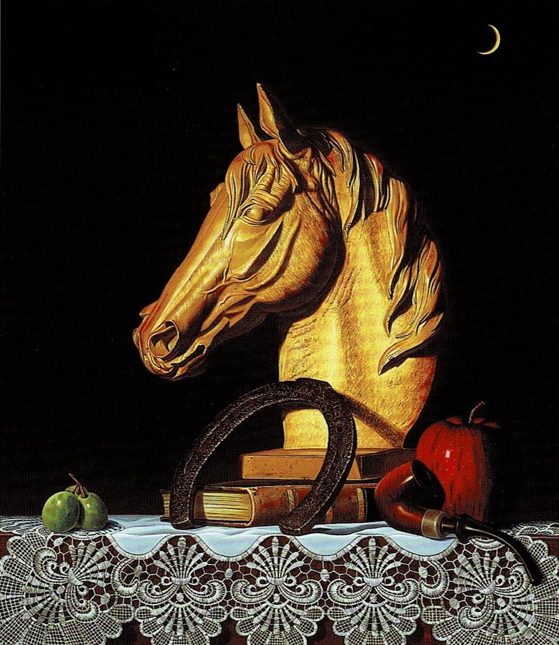 三田肇「名馬の肖像」10F