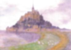 クレエコール外国語 おけいこ教室 水彩画