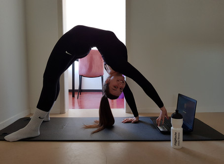 Katharinas spannende Aufgaben im Home Office