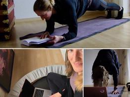 Isabelle braucht bewegte Pausen im Home Office