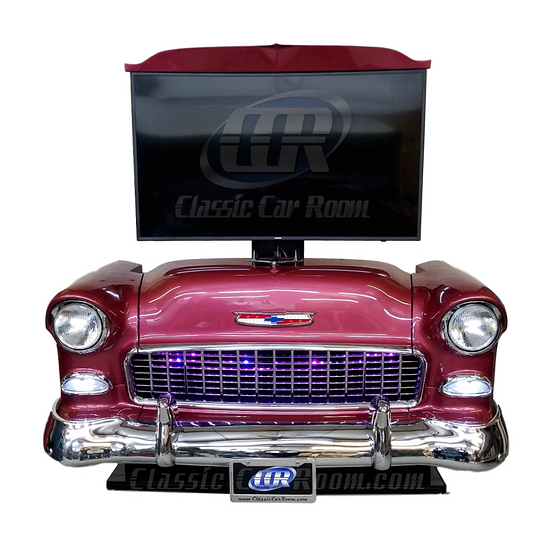 Car Furniture | 1955 Chevy TV Lift Display | Ultimate Man Cave