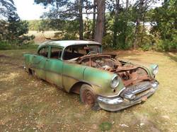 1955 Oldsmobile Front