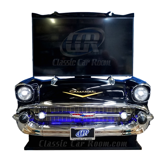 Car Furniture | 1957 Chevy Bel Air TV Lift Display | Ultimate Man Cave