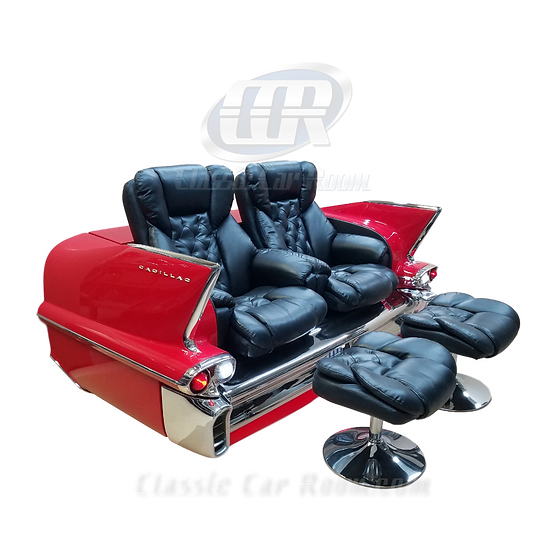 Car Furniture | 1958 Cadillac Recliner Car Couch | Ultimate Man Cave
