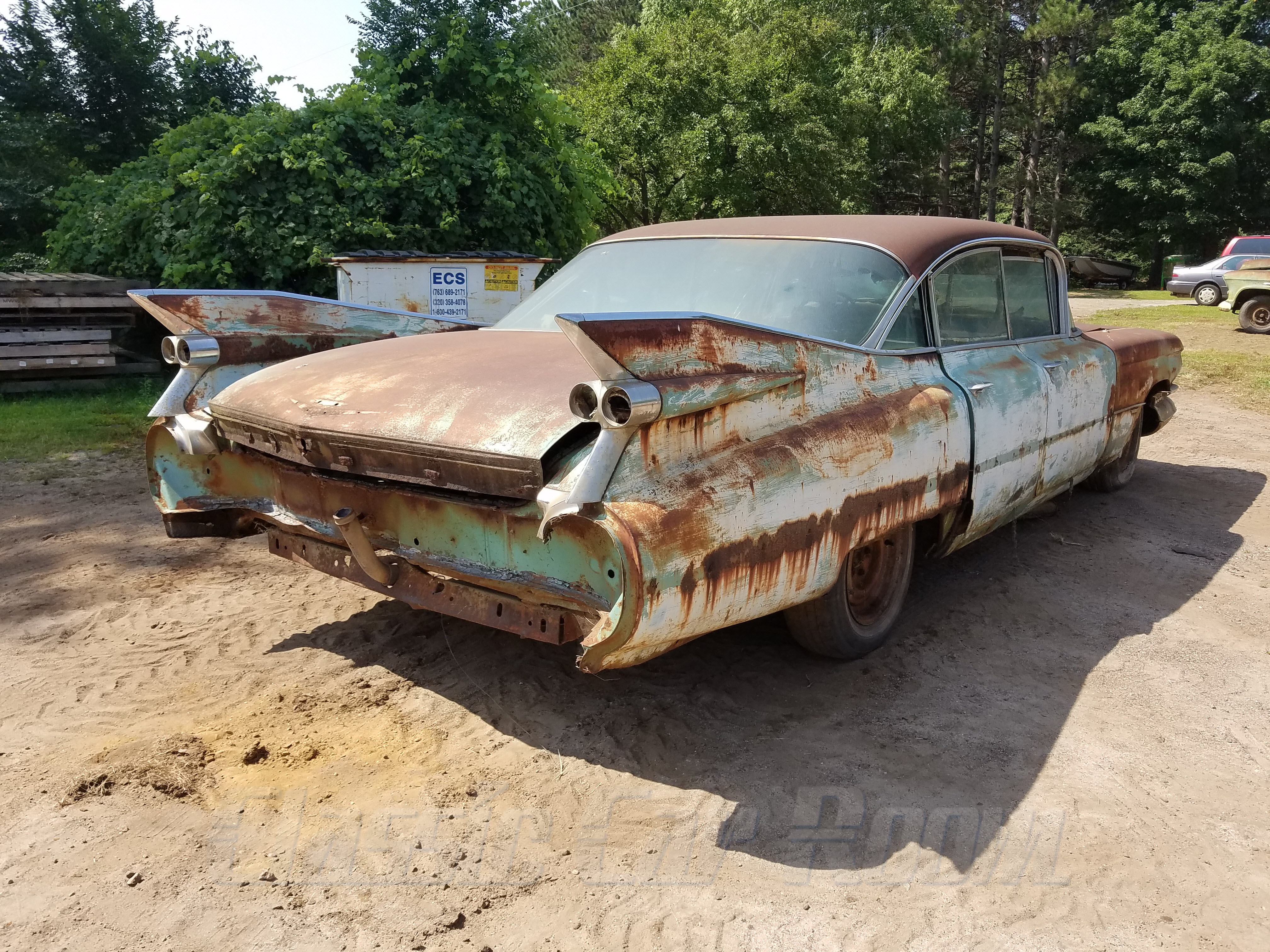 1959 Cadillac Rear (3)