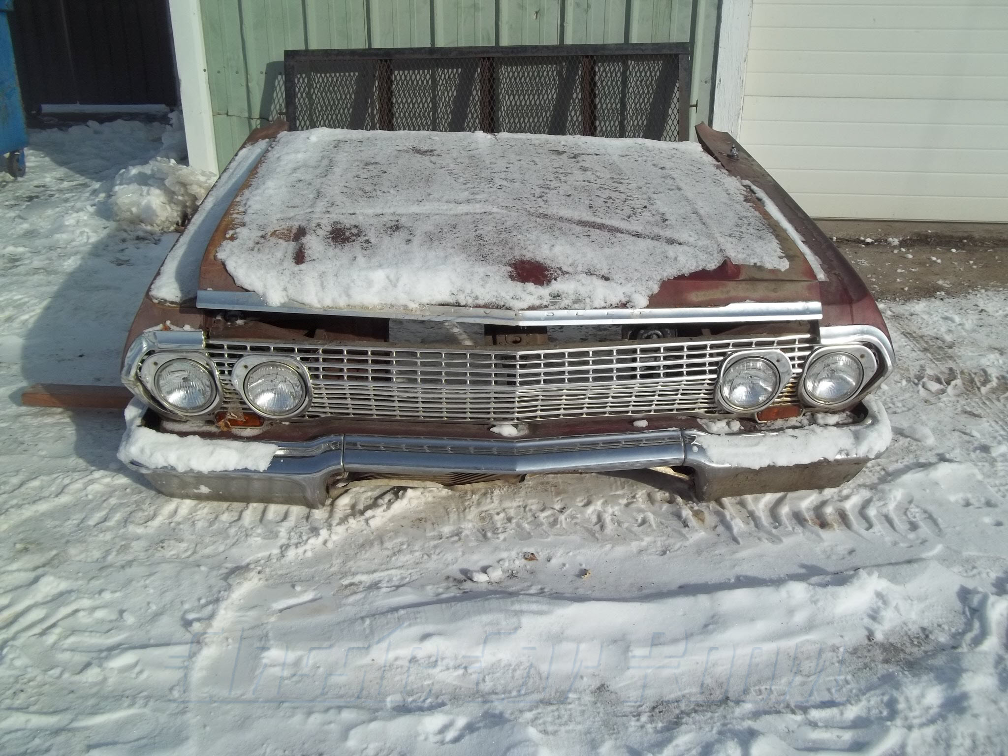 1963 Chevy front