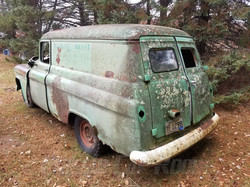 1955 Chevy Panel Truck Rear
