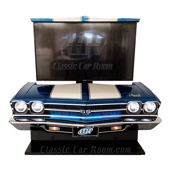 Car Furniture | 1969 Chevelle SS TV Lift Display | Ultimate Man Cave