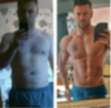 The before and after pic of myself, an online fitness coach UK. I'm also a personal trainer in widnes. I help people lose weight with the ultimate fitness program.