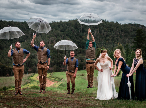 How to Make the Most of Rain on Your Wedding Day