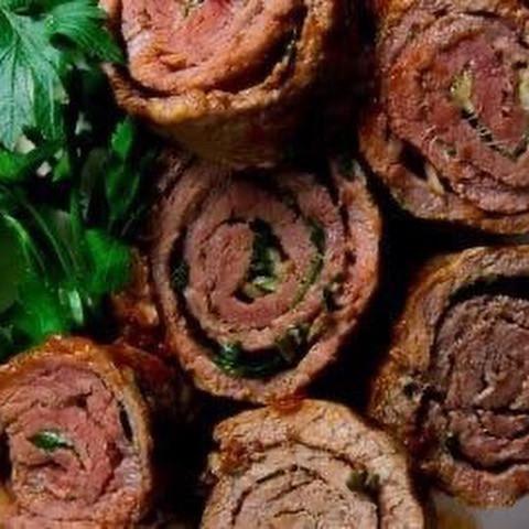 Italian Style Beef Rouladen