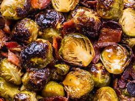 Bourbon Bacon Brussel Sprouts