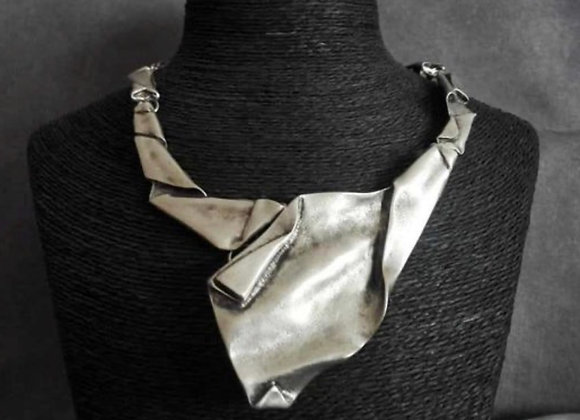 Asymetrical Statement Necklace